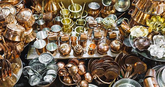 صنایع دستی مسی ایرانی