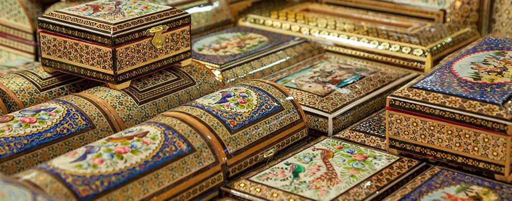 خاتم کاری هنر دست اصفهان