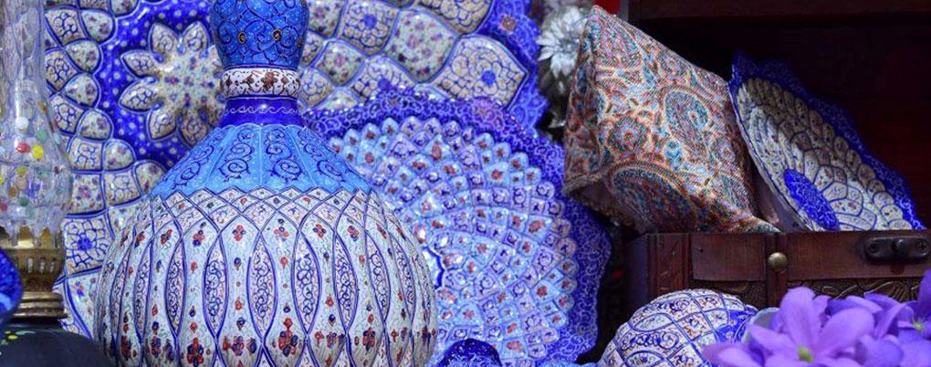 میناکاری هنر دست اصفهان