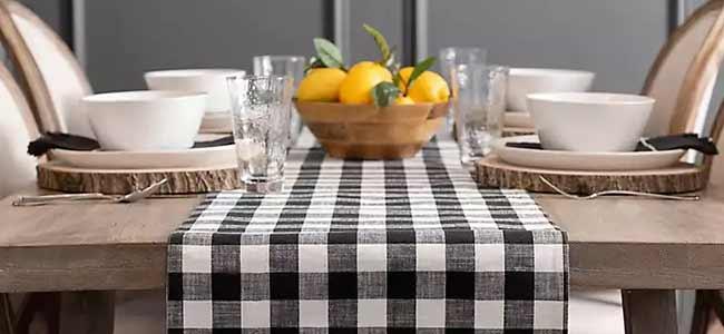 رانر میز ناهارخوری