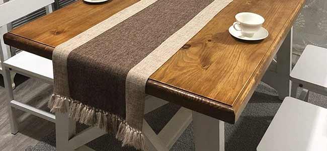 رانر رومیزی مخصوص میز ناهار خوری