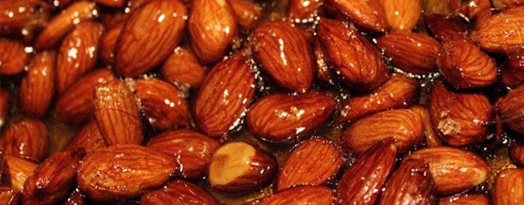 بادام سوخته شیرازی