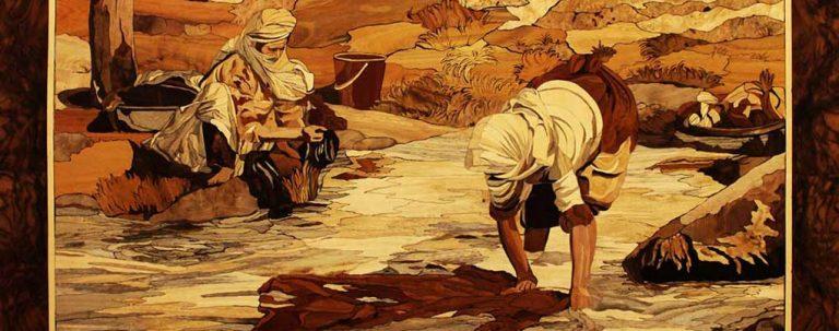 هنر مشرق زمین مدیون هنر معرق کاری ایرانی