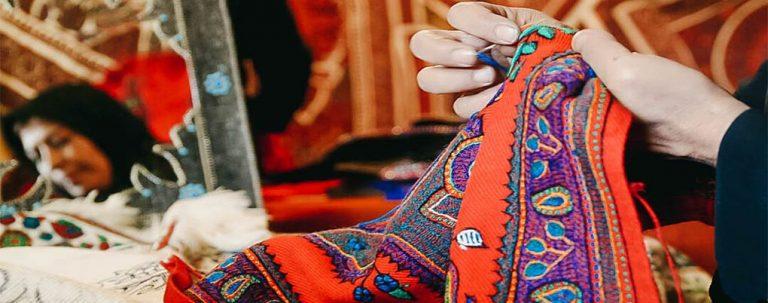 هنر پته دوزی کرمان، برخاسته از سرانگشتان هنرمند زنان کرمان