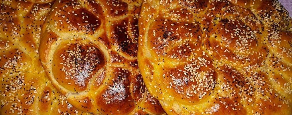 طرز تهیه نان روغنی